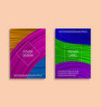 colorful dynamic backgrounds for cover design vector image