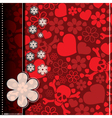 Decorative card vector image vector image