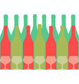 design for wine color vector image vector image