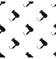 hair dryerbarbershop single icon in black style vector image vector image