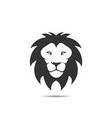 lion icon logo template vector image