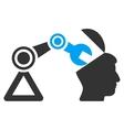 Open Head Surgery Manipulator Flat Icon vector image vector image