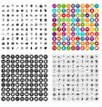 100 love icons set variant vector image