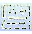 arrowstorn vector image vector image