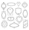 collection vintage patterns and frames vector image vector image