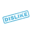 Dislike Rubber Stamp vector image vector image