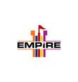 empire logo design template vector image vector image