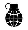 grenade icon 96x96 pictogram vector image vector image