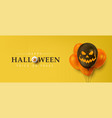 happy halloween sale banners or party invitation vector image vector image