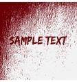 Red Bloow Splatter Texture vector image vector image