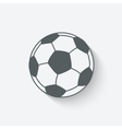 soccer sport icon vector image