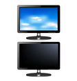 TV monitors vector image