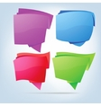 Abstract bubbles for speech EPS 8 vector image