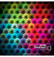 Abstract geometric background design vector image vector image