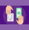 buying process seller and buyer business vector image