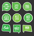 modern sale stickers and tags collection 11 vector image vector image