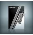 Tire Brochure vector image vector image