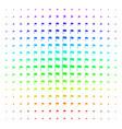 waving flag shape halftone spectrum effect vector image vector image