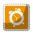 alarms clock icon image vector image