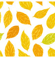 beautiful seamless background with yellow orange vector image vector image
