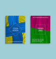 colorful saturated backgrounds for cover design vector image