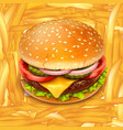 fastfood 02 vector image vector image
