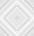 Seamless white ethnic texture vector image vector image