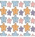 ed starfish beach seamless pattern design vector image
