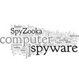 avoid computer disaster a review spyzooka vector image vector image