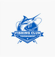 fishing fishing logo badge 2 vector image vector image
