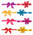 gift-wrap ribbons vector image vector image