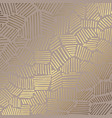 golden abstract elegant decorative background vector image vector image