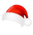 Santa Claus Cap vector image vector image