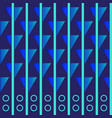 wallpaper with elements of stripes and figures vector image vector image