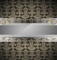 bar for text on patterned background vector image vector image