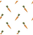 carrot triangle shape seamless pattern backgrounds vector image
