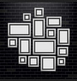 creative of wall picture vector image vector image