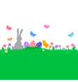 easter color background vector image vector image