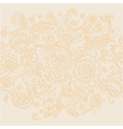 gold lase on white background vector image vector image