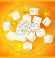 light geometric refined sugar template vector image