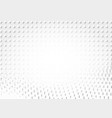 light halftone futuristic dot background vector image