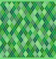 seamless geometric pattern with green random vector image