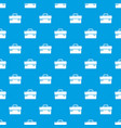 tool box pattern seamless blue vector image