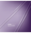 Purple abstract background with volume lines vector image