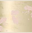 autumn foliage rose gold blush trendy chic vector image