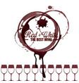 best wine label vector image