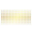 cannabis gold halftone array vector image