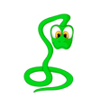 cartoon snake vector image vector image