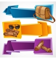 Fashion banners set vector image vector image