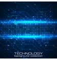 Technology background with circuit boards elements vector image vector image